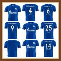 21 22 FC Schalke Soccer Jerseys Ozan Kutucu Serdar 2021 2022 04 Harit Raman Football Shirt Maillot de Pie