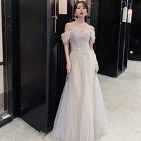 2021 Spring New Wedding BridesmaidDinner Dress Show Host Graduation Season Sisters Small Skirt