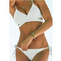 Costumi da bagno Swimwear Swimsuit Solid's Solid Cross BA