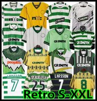 1995 1998 1999 Celtic Retro Soccer Jerseys 95 96 97 98 99 Camisetas de fútbol Larsson Sutton Nakamura Keane Black Sutton 2005 06 1989 91