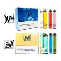 Puff Xtra Xtras Jednorazowe E Papierosy Vape Pen Vape Pill 5.0ml Cartridges Zestaw startowy Puffbar Plus Device Parforizers Pods