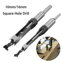 Professional Drill Bits 10mm 16mm Hole Mortiser Bit Mortising Chisel Woodworking Electric Tools Power Tool