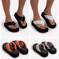 Slippers Lapolaka Dropship Flip Flops Flat Heel Platform Summer Women 2021 Fashion Shoes Casual Cosy Big Size 43
