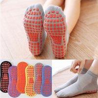 2021 New Women Yoga Socks Quick-Dry Silicone Non-Slip Floor Socks Breathable Cotton Dance Ballet Fitness Non-Slip Pilates Ballet Socks