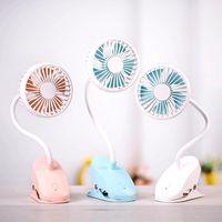 Refrigeração Lâmpada de Lâmpada LED de LED Hands-LED Fan 360 Grau, Adequado para Escritório, Escola e Casa, Vento Natural