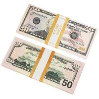 Movie Prop Banknote Party Games 10 долларов Игрушка Валюта Поддельные деньги Деньги подарок 1 20 50 евро доллар Билет