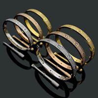 Titanyum Çelik 3 Satır Tam Elmas Bilezik Moda Kadın Erkek Chirstmas Bileklik Bilezikler Lover Mesafe Takı Hediye Ile Kadife Çanta 200