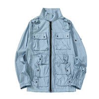 Topstoney 2020 KONNG GONNG Solid Herren Modejacke Bequemer Straßenjacken Taschen Tops Original Turkish Fabric_cz02