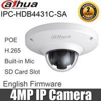 IPC-HDB4431C-SA DAHUA 4MP H.265 Mini Dome Cámara IP Multi-IDNIGNIVIDO IPC-HDB4300C POE Network Cámaras de seguridad