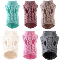 Dog Apparel Pet Sweater Cat Clothes For Small Clothing Christmas Dogs Coat Spring Warm Jacket Knitting Costume