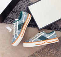 Gucci shoes Alta calidad El último tenis 77 Progettista Sneakers Hombres de alta gama y zapatos informales para mujer Llegan las perchas de las señoras de la moda de los niños