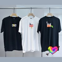 Polo Box T-shirt Erkek Kadın Tom Jerry Karikatür Baskılı KITH Çay 1: 1 Yüksek Kalite Kısa Mouw Kraag Tag Tops