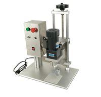 Máquina de equipamento industrial automático de equipamento industrial Diâmetro 10-50mm Capper Capper Capper Tampa Elétrica 220 V DDX-450