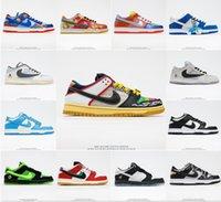 Top Quality Nike SB Dunk Low Prm Médio Curry Dunks Homens Mulheres Sapatos Chunky Dunky Sneakers Plataforma Designer Esportes Skate Unc Kentucky Sneaker Chaussures
