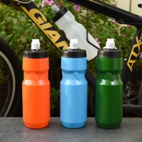 Large capacity squeeze road mountain bike cycling outdoor sports kettle plastic cupKW3I