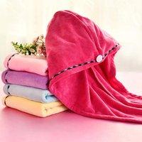 Microfibra mágica cabello secado rápido tapas de ducha secadora toalla bañera sombrero sombrero turbante rápido pelos secos