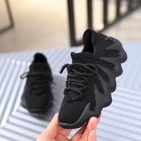 Bebekler 450s Kany Koşu Ayakkabıları EVA Köpük Exoskeleton Sole Pembe Kızlar Bulut Beyaz Koyu Slate Siyah Primekitler Reçine Serin Gri Küçük Çocuklar