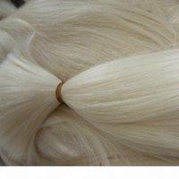 Qualidade superior 613 Bleach Blonde Braiding Human Braiding Bulk sem trama Hetero Brasileiro Humano Cabelo Comprar 300gram