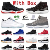 NikeAirJordan11RetroJumpmanJorden 11sBasketball Shoes Mens Cool Grey High 72-10 Citrus Low Legend Blue XI Space Jam Cap and Gown Gamma Concord Bred Jubilee 25th Trainers