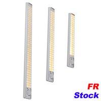 Fr Akte 160 LED Treppe Nachtlicht Wireless Pir Motion Sensing Schrank Unter Schrankbeleuchtung USB-Akku
