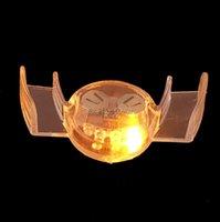 6 teile / los Neuheit Streich Spielzeug Halloween LED Blinkende Zähne Mund Guard Party Mundstück Glow Zahn Geschenke Lieferung Dekoration