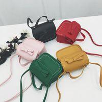 Purse Kids Mini Cute Little Girl Bow Crossbody Bag Kawaii Baby Girls Small Zero Wallet Toddler Coin Pouch Purses Gift
