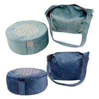 Tapis de yoga Méditation Bolster Bolster Bolster Coussin Coussin Coussin de coton à glissière lavable