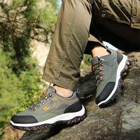 2021 أعلى جودة العلامة التجارية الرجال المشي أحذية جلدية الرجال عارضة أحذية الرجال الرياضة الرحلات الأحذية للماء رجل تسلق أحذية رياضية رياضية