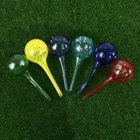 Attrezzature per annaffiatori in stile europeo in vetro automatico piante palla palla globes bulb 6x6x15cm all'ingrosso