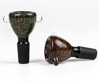도매 14mm 유리 그릇 및 18mm 남성 조인트 연기 액세서리 DAB 조작 물 파이프 봉 필터 그릇 컵 오일 버너 물 담뱃대 흡연