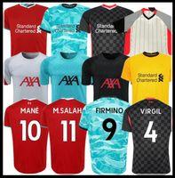 20 21 camiseta de fútbol de liverpool LVP camiseta de fútbol del liverpool fc soccer jersey SALAH MANÉ FIRMINO VIRGIL HENDERSON ROBERTSON KEITA LALLANA ALEXANDER ARNOLD