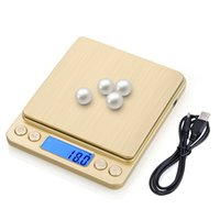 USB powered Digital Kitchen Scale Mini Pocket weighing Food scale for Cooking Baking High Accuracy Jewelry Electronic Scale 210401