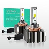 자동차 헤드 라이트 D1S / D1C LED 헤드 라이트 전구 5500K 110W 14400LM 밝기 쉬운 설치 교체 DIY HID 램프 CANBUS 오류 무료