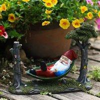 Durable Zwergverzierung Harz Dekor Schmuckfigur Figur Gartendekorationen