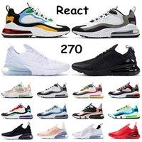 air max 270 corsa per gli uomini delle donne triple nero bianco hanno un giorno South Beach Throwback Future Hot Punch sport sneakers scarpe da ginnastica taglia 36-45