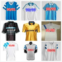 Olympique de Marsilya Retro Futbol Formaları 1990 1991 1992 1993 1998 Ekstra Payet Boli 11/12 Vintage Futbol Gömlek Maillot Ayak