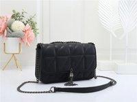 flap Envelope crossbody messenger shoulder Bag quilted handbags wallet Women Fashion brand Luxurys Designer handbag black chain Bags with Metal tassel