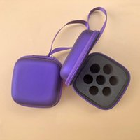 Storage Bags 7 Slots 9 Essential Oil Case For 1-3ml Bag Free Combination PU Holder Multi-function