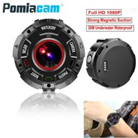 Action Camera HD 1080P WiFi Sport Watch Band Camcorder 30m Waterproof Swimming Diving DV Video Recorder Mini IP Cameras