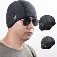Cappellini da ciclismo di alta qualità inverno caldo cappello in pile caldo cappello termico tappo bicicletta headwear sport all'aperto sport antivento corsa sci da corsa maschere bici