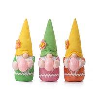 Ostern Gnome Faceless Spielzeug, Plüschpuppedekorationen Frühling Ostern-Zwerge mit Ei