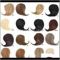 Extensions Productsz&F Girls Aessories Xpression Braiding Hair Bangs Extended Traceless For Lady Charming Wholesale Colors Available Drop De