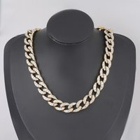 Find Me Simple Geometric Alloy Necklace Rhinestone Acrylic Sweater Chain For Women Fashion Jewelry Accessories Chains