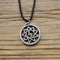 Pendant Necklaces 12pcs Celt Scottish Irish Knot Necklace Vintage Gothic Cross Jewelry