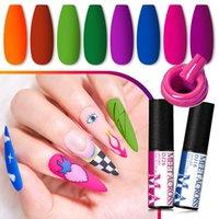 Nail Gel MEET ACROSS Polish For Manicure Tool 5 ML Enamel Nails Design Need Lamp UV Varnish Art Paint