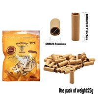 120pcs bag Disposable Tobacco Cigarette Filter 18*6mm Smoking Accessories Tip Pre Rolled Smok Cigarettes Filters Holder Tips Smoke Brown Rolling Papers Filters;