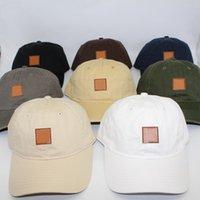 أزياء الشارع الكرة قبعات للرجال النساء ربيع الخريف في الهواء الطلق الرياضة قبعة البيسبول بلون السفر شاطئ الشمس القبعات انخفاض الشحن
