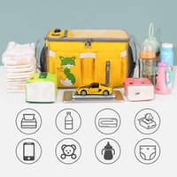 Diaper Bags Portable Baby Stroller Storage Bag Multifunctional Large Capacity Organizer Waterproof For Outdoor Travel Camping LBV