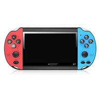 """X7 4.3 """"Video Oynatıcı Oyun Konsolu El GBA 300 Ücretsiz Arcade Oyunları Retro LCD Ekran Denetleyicisi Yetişkin Çocuklar Için"""