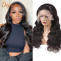 Lace Wigs 4X4 Closure Wig 28 Inch Body Wave Front Human Hair Brazilian Remy Frontal PrePlucked With Baby